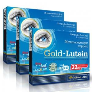 Gold-Lutein - Pachet 3 luni