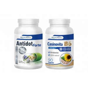 ANTIDOT Forte + CASINOVITA B6