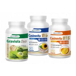 Graviola Duo + CASINOVITA B15 + CASINOVITA B6