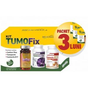 """3 x KIT TUMOFIX - pentru stoparea dezvoltării tumorilor, GRATUIT cartea """"Ce mănânci ca să combați cancerul"""""""
