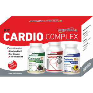 KIT CARDIO COMPLEX - pentru susținerea funcțiilor cardiovasculare