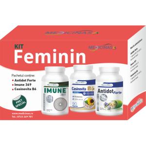 KIT Feminin - pentru reglarea funcțiilor hormonale și ale sistemului imunitar