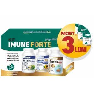 3 x KIT IMUNE FORTE - pentru imunitate puternică