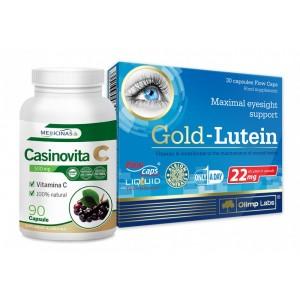 CASINOVITA C + Gold-Lutein