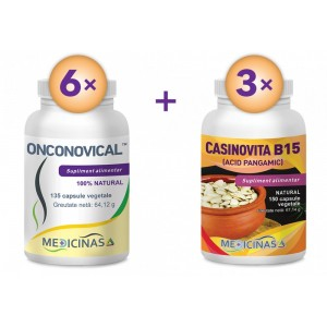 Onconovical - Pachet 3 luni + GRATUIT Casinovita B15 - Pachet 3 luni!