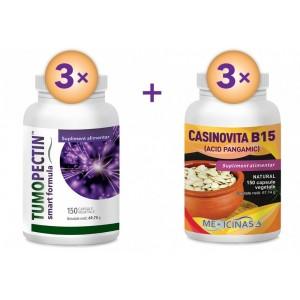 Tumopectin - Pachet 3 luni + GRATUIT Casinovita B15 - Pachet 3 luni!