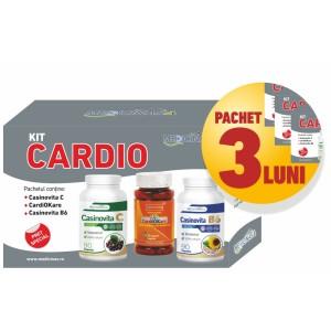 3 x KIT CARDIO - pentru susținerea funcțiilor cardiovasculare